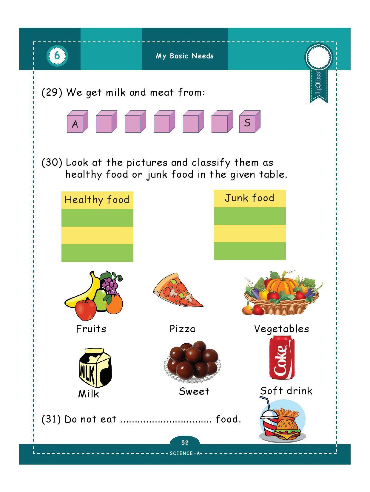 Genius Kids Worksheets Bundle For Class 1 Grade 1