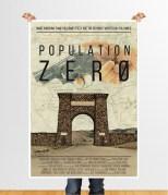Population Zero movie poster design 2