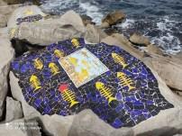 فسيفساء على صخور شاطئ المنستير 7