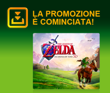 The Legend of Zelda: Ocarina of Time 3D in Offerta su eShop