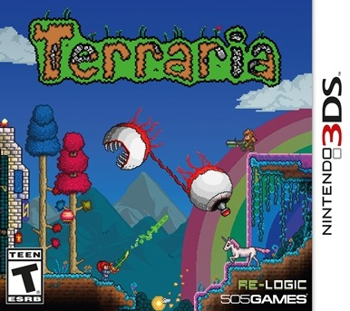 Terraria Arriva su 3DS e Wii U