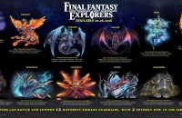 Eidolon In Final Fantasy Explorers