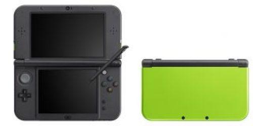 Nuovi Colori per New Nintendo 3DS lime