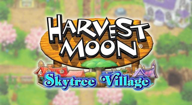 Tre Nuovi Personaggi In Harvest Moon Skytree Village