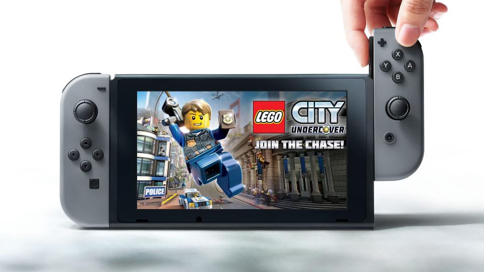 Remake di Lego City Undercover su Switch
