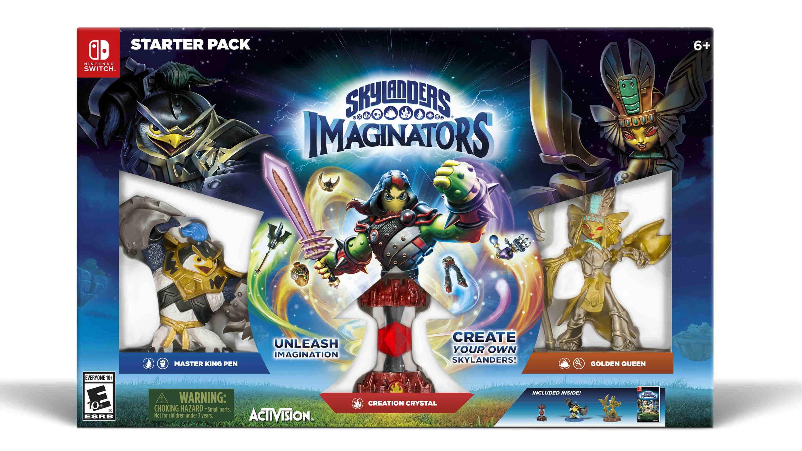 Skylanders Imaginators Arriverà su Switch