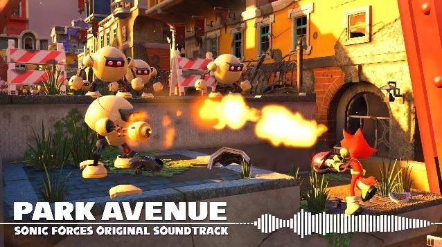 Sonic Force, Traccia Audio di Park Avenue