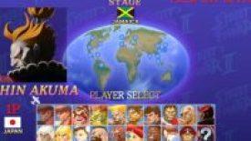 Shin Akuma in Ultra Street Fighter II The Final Challengers Nintendo Switch