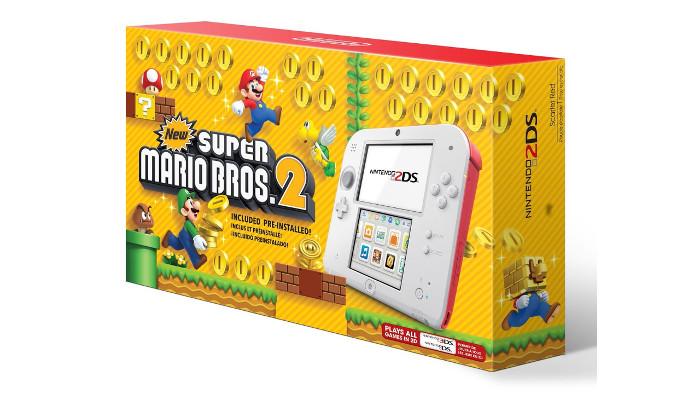 Un Nuovo Nintendo 2DS per New Super Mario Bros. 2