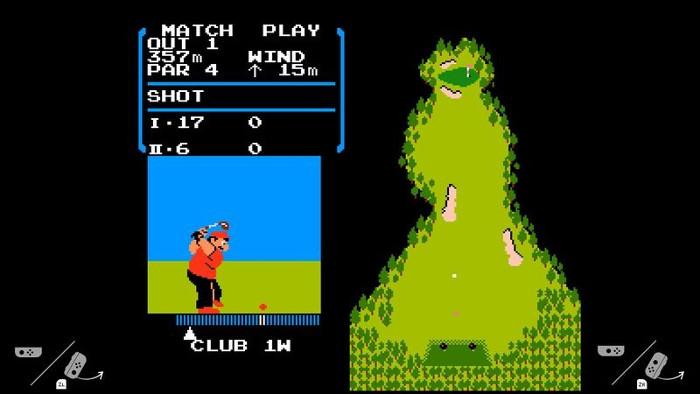 NES Golf è Stato Eliminato da Nintendo Switch