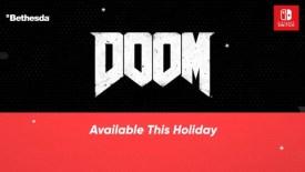 Wolfenstein ii Doom Nintendo Switch