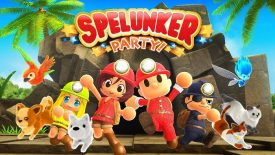 Spelunker Party Nintendo Switch
