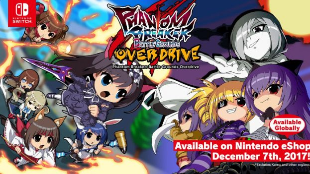Phantom Breaker Battle Grounds Overdrive Nintendo Switch