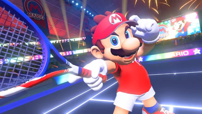 Mario Tennis Aces Arriva su Nintendo Switch nella Primavera del 2018