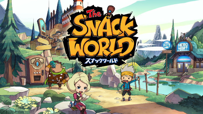 The Snack World Trejarers Nintendo Switch