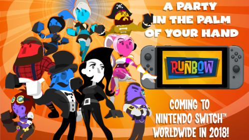 Runbow Nintendo Switch
