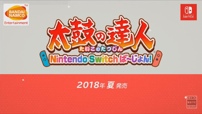 Taiko no Tatsujin Arriva su Nintendo Switch in Giappone