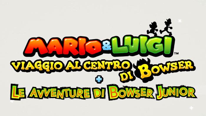Qualche Novità su Mario & Luigi Viaggio al Centro di Bowser + Le Avventure di Bowser Junior