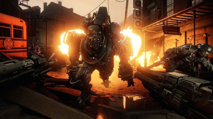 Primo Video di Wolfenstein II su Nintendo Switch