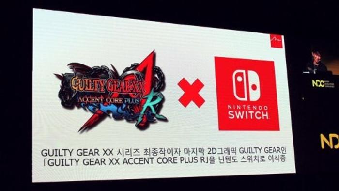 Guilty Gear XX Accent Core Plus R Annunciato per Nintendo Switch