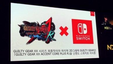 Guilty Gear XX Accent Core Plus R Nintendo Switch