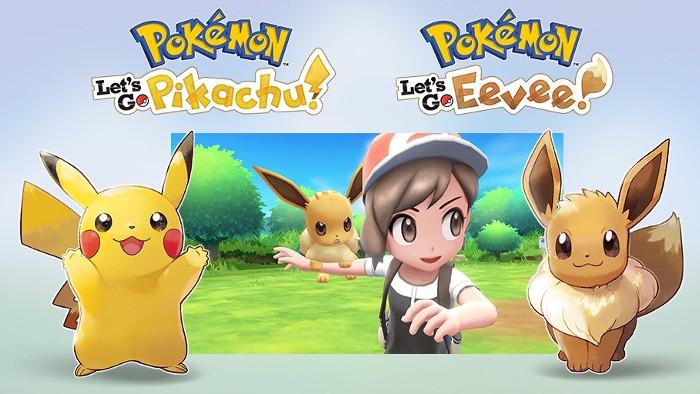 Pokémon Let's Go, Pikachu e Pokémon Let's Go, Eevee! Nintendo Switch