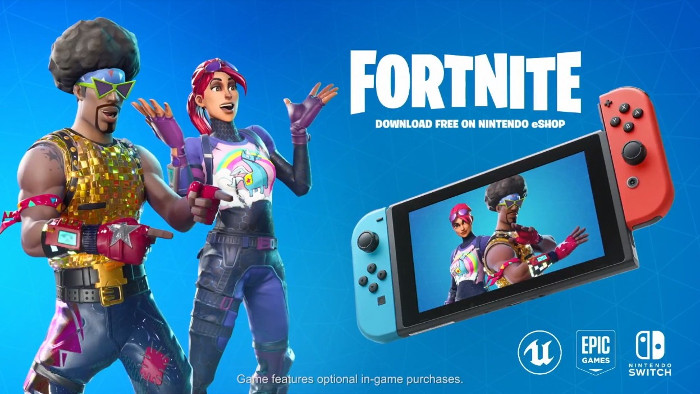 Confermato Fortnite per Nintendo Switch