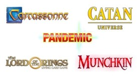 Asmodee Digital Carcassonne Catan Universe Pandemic The Lord of the Rings Living Card Game Munchkin Nintendo Switch