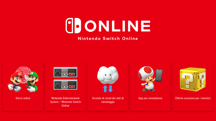 Un Video Mostra le Caratteristiche del Nintendo Switch Online