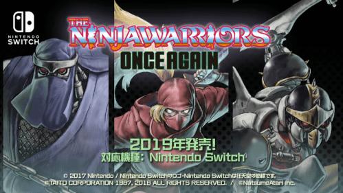 The Ninja Warriors Once Again Nintendo Switch