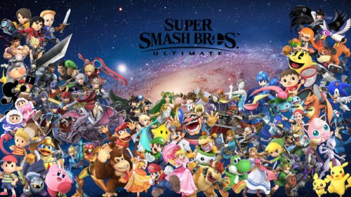 Super Smash Bros. Ultimate Multiplayer Nintendo switch
