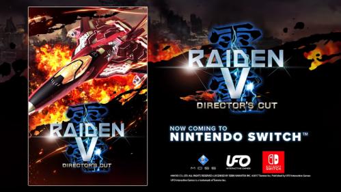 Raiden V Director's Cut Nintendo Switch