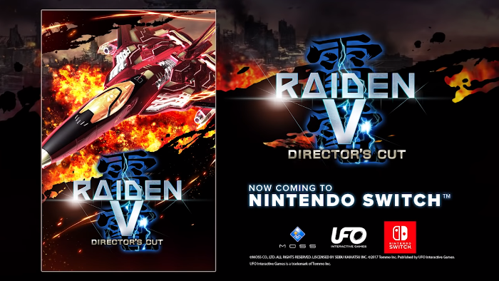 Raiden V: Director's Cut Arriva a Giugno su Nintendo Switch