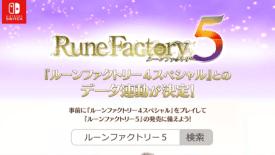 Rune Factory 5 Nintendo Switch