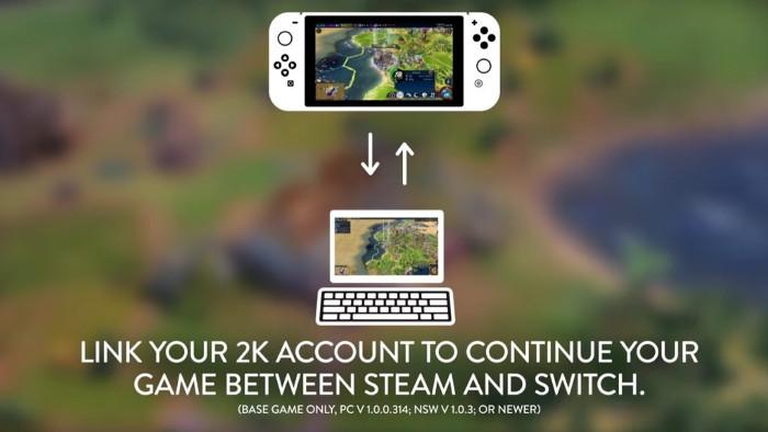 Sid Meier's Civilization VI Supporta il Cross-Save tra Nintendo Switch e PC