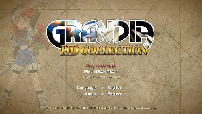 Grandia HD Collection Utilizza il Codice per PlayStation e il Resto dal Sega Saturn