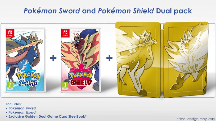Data di uscita di Pokémon Sword e Pokémon Shield e Dual Pack