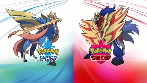 Pokémon Sword e Pokémon Shield Zacian Zamazenta Nintendo Switch