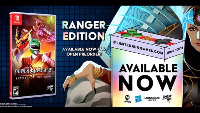 Versioni Fisiche di Power Rangers: Battle for the Grid Presentate all'E3