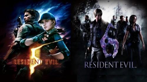Resident Evil 5 6 Nintendo Switch