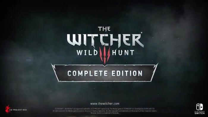 The Witcher III Wild Hunt Complete Edition Arriva su Nintendo Switch il 15 Ottobre