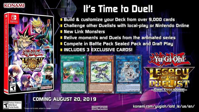 Yu-Gi-Oh! Legacy of the Duelist Arriva in Occidente il 20 Agosto con 3 Carte Bonus