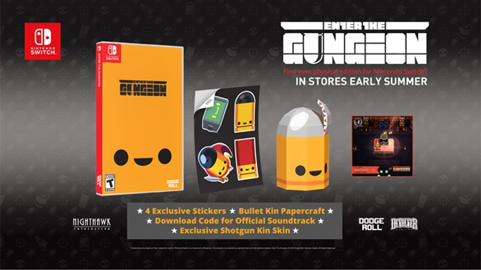 Enter The Gungeon  Arriva in Versione Fisica per Nintendo Switch