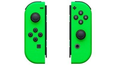 Neon Green Joy-Con Nintendo Switch
