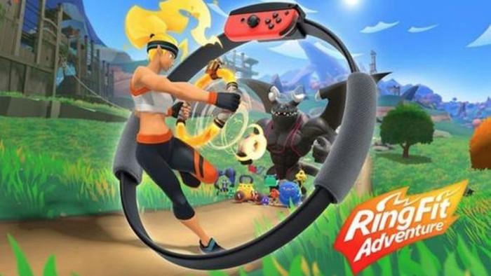 Nuovo Trailer di Ring Fit Adventure
