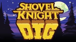 Shovel Knight Dig Nintendo Switch