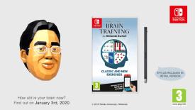 Dr. Kawashima's Brain Training for Nintendo Switch