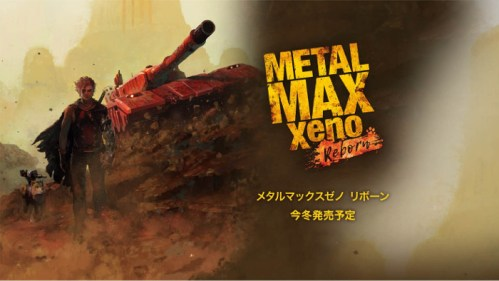 Metal Max Xeno Reborn Nintendo Switch