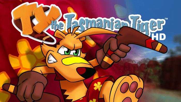 Ty the Tasmanian Tiger Arriva su Nintendo Switch