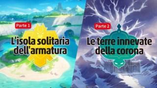 Pokémon Spada e Scudo L'Isola Solitaria dell'Armatura Le Terre Innevate della Corona Nintendo Switch